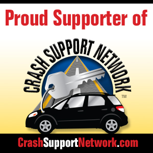 proud supporter of crash support network